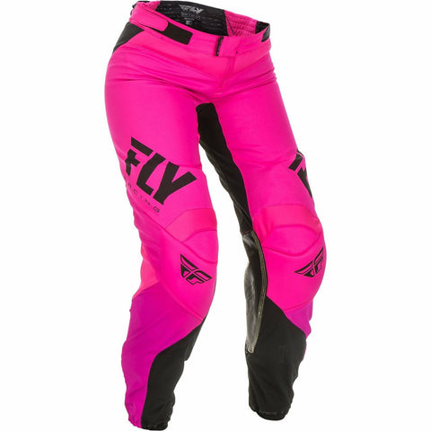 Fly Racing Women's Motocross Lite Race Pants Pants & Bibs Fly Racing NEON PINK/BLACK 15/16