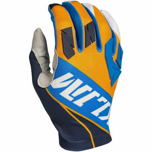 Klim XC Lite Off-Road Glove Gloves Klim Orange - Blue SM