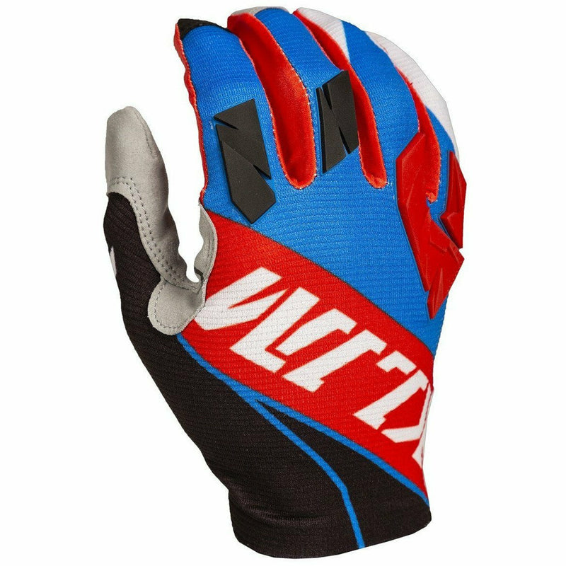 Klim XC Lite Off-Road Glove Gloves Klim Red - Blue YSM
