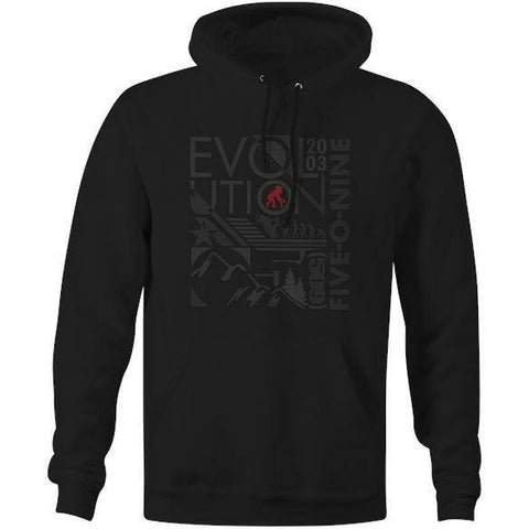 509 Youth Evolution Pullover Hoody Hoodie 509 Small
