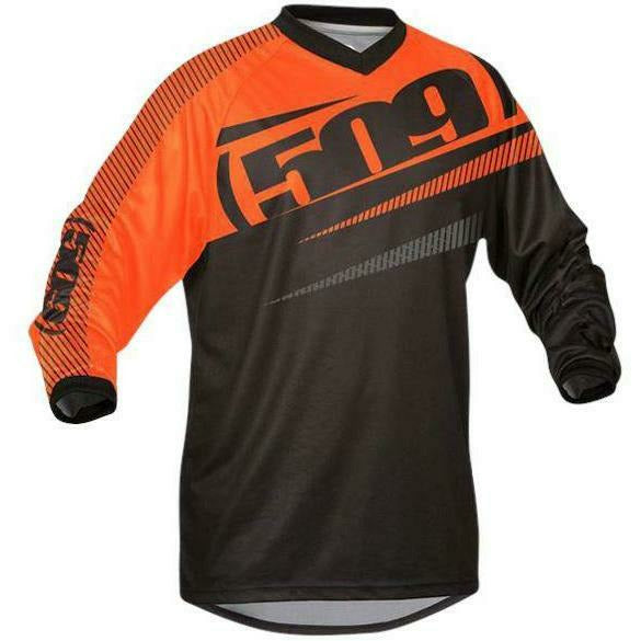 509 Windproof Jersey | 509 Off-Road & Snow Jerseys Jersey 509 Orange Small