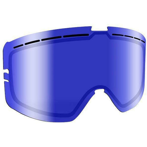 509 Kingpin Goggle Replacement Lens - Blue Mirror/Blue Tint