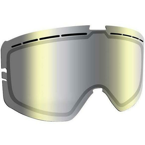 509 Kingpin Goggle Replacement Lens - Chrome Mirror/Yellow Tint