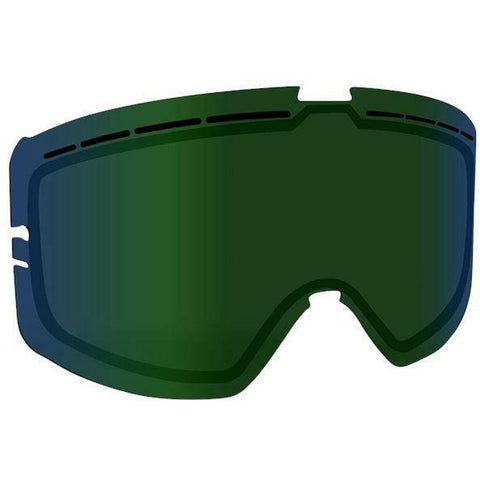 509 Kingpin Goggle Replacement Lens - Green Mirror/Bronze Tint