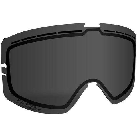 509 Kingpin Goggle Replacement Lens - Polarized Photochromatic Light Smoke to Dark Smoke Tint