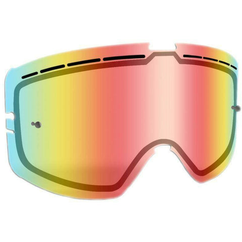 509 Kingpin Tear Off Lens - Fire Mirror/Clear Tint