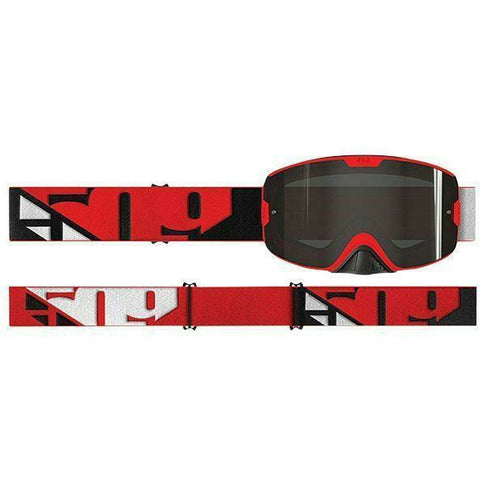 509 Kingpin Offroad Goggle | 509 Motocross Goggles Goggles 509 Red Slash