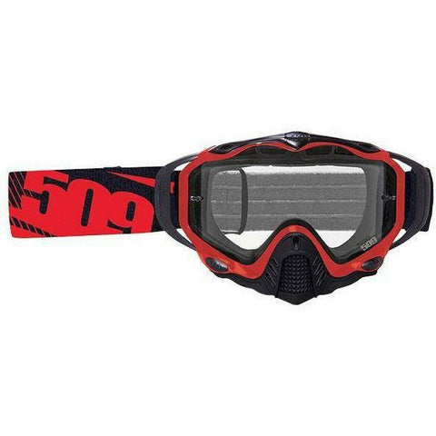509 Sinister MX-5 Enduro Offroad Goggles | 509 Motocross Goggles Goggles 509 Red