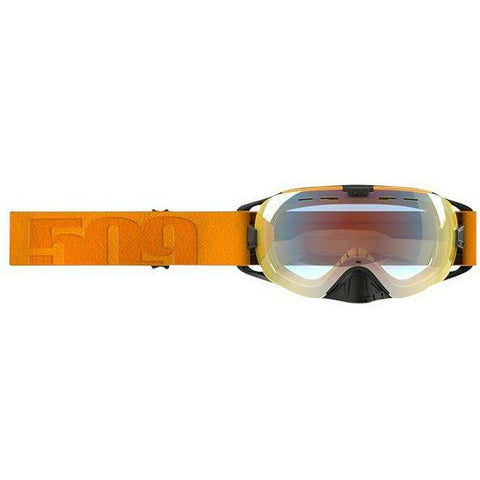 509 Revolver Snow Goggle Goggles 509 2017 Neon Orange Fire Mirror/Clear