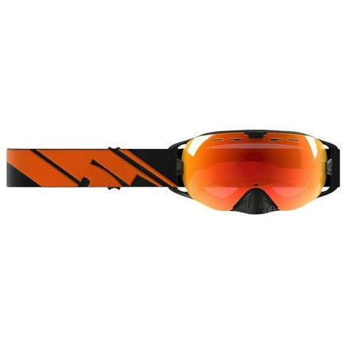 509 Revolver Snow Goggle Goggles 509 2018 Black Fire Photochromatic Fire Mirror/Photochromatic Orange to Dark Blue Tint