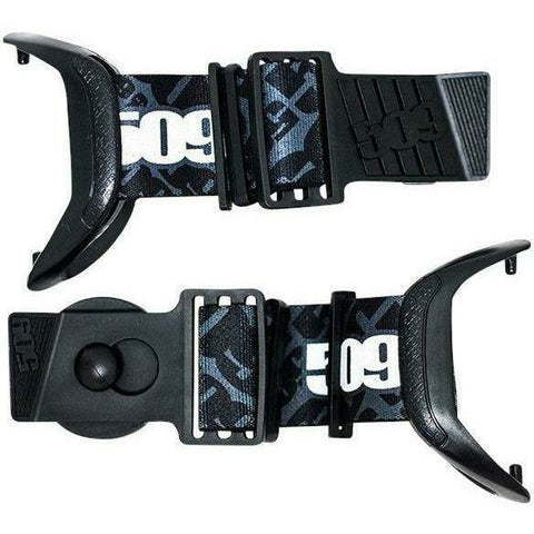 509 Short Straps for Sinister X5 Goggles Accessories 509 Black
