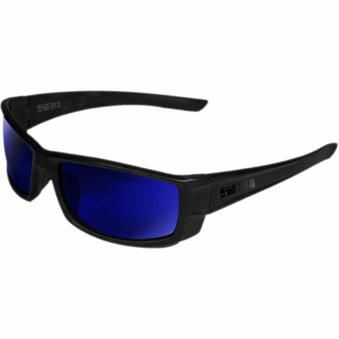 509 Icon Polarized Sunglasses Sunglasses 509 Matte Black Polarized Blue Mirror