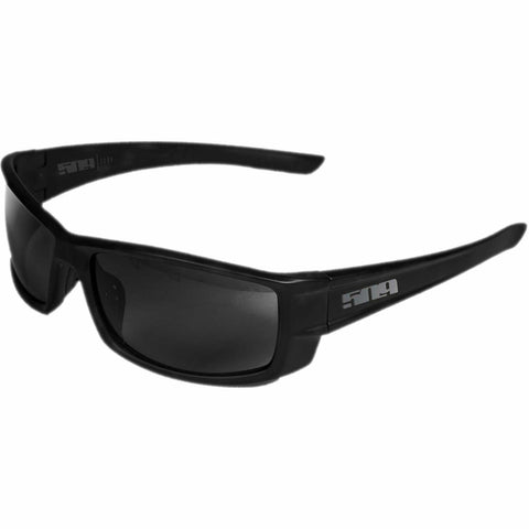 509 Icon Polarized Sunglasses Sunglasses 509 Matte Black Polarized Smoke