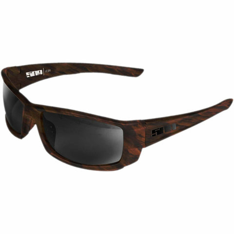 509 Icon Polarized Sunglasses Sunglasses 509 Matte Tortoise Polarized Smoke