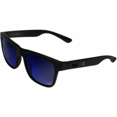 509 Whipit Polarized Sunglasses - Gloss Black/Blue Mirror