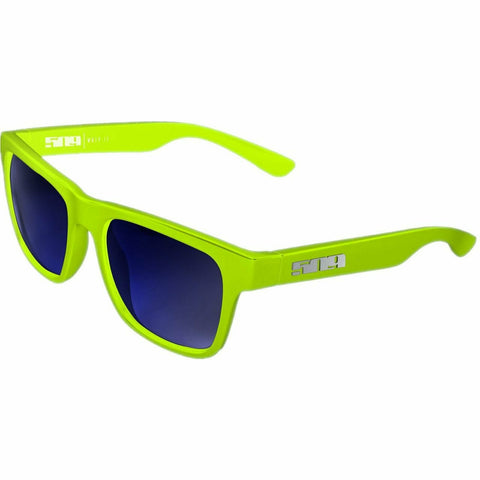 509 Whipit Polarized Sunglasses Sunglasses 509 Hi Vis Blue Mirror