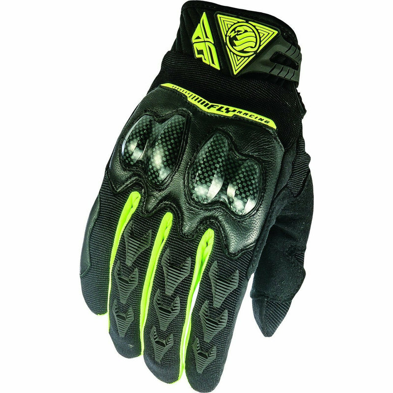 Fly Racing Patrol XC Gloves Gloves Fly Racing BLACK/HI-VIS 08