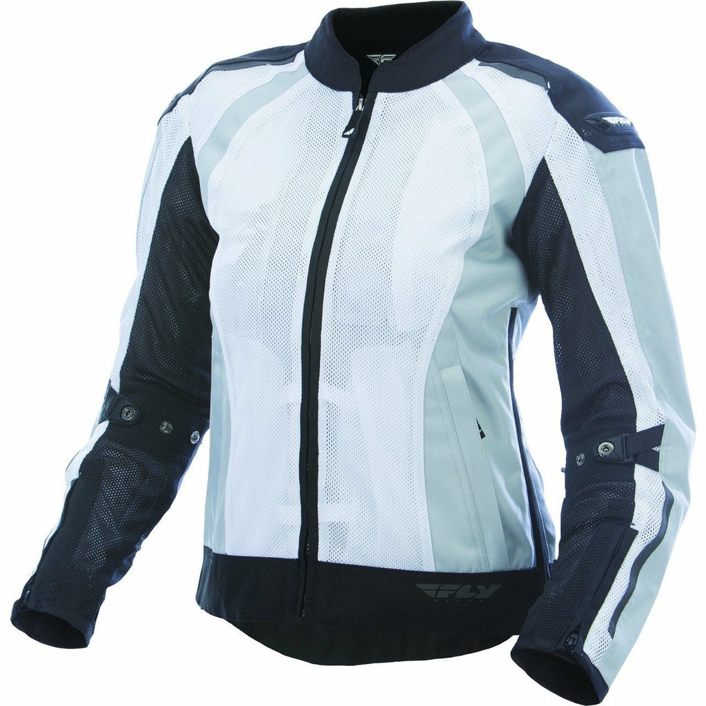 Fly Racing Women's Coolpro Street Jacket Jacket Fly Racing WHITE/BLACK 3X