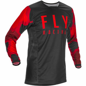 Fly Racing Youth Kinetic K221 Jersey 21 Fly Racing 2021 RED/BLACK YL