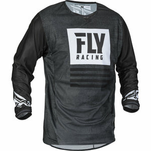 Fly Racing 2019.5 Kinetic Mesh Noiz Jersey Jersey Fly Racing BLACK/WHITE 2X