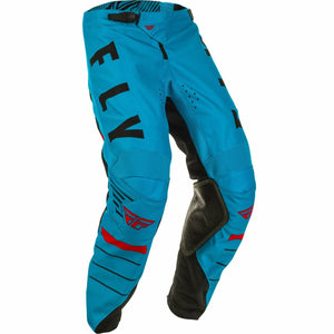 Fly Racing Youth Kinetic K120 Pants Fly Racing Off-Road Blue/Black/Red 18