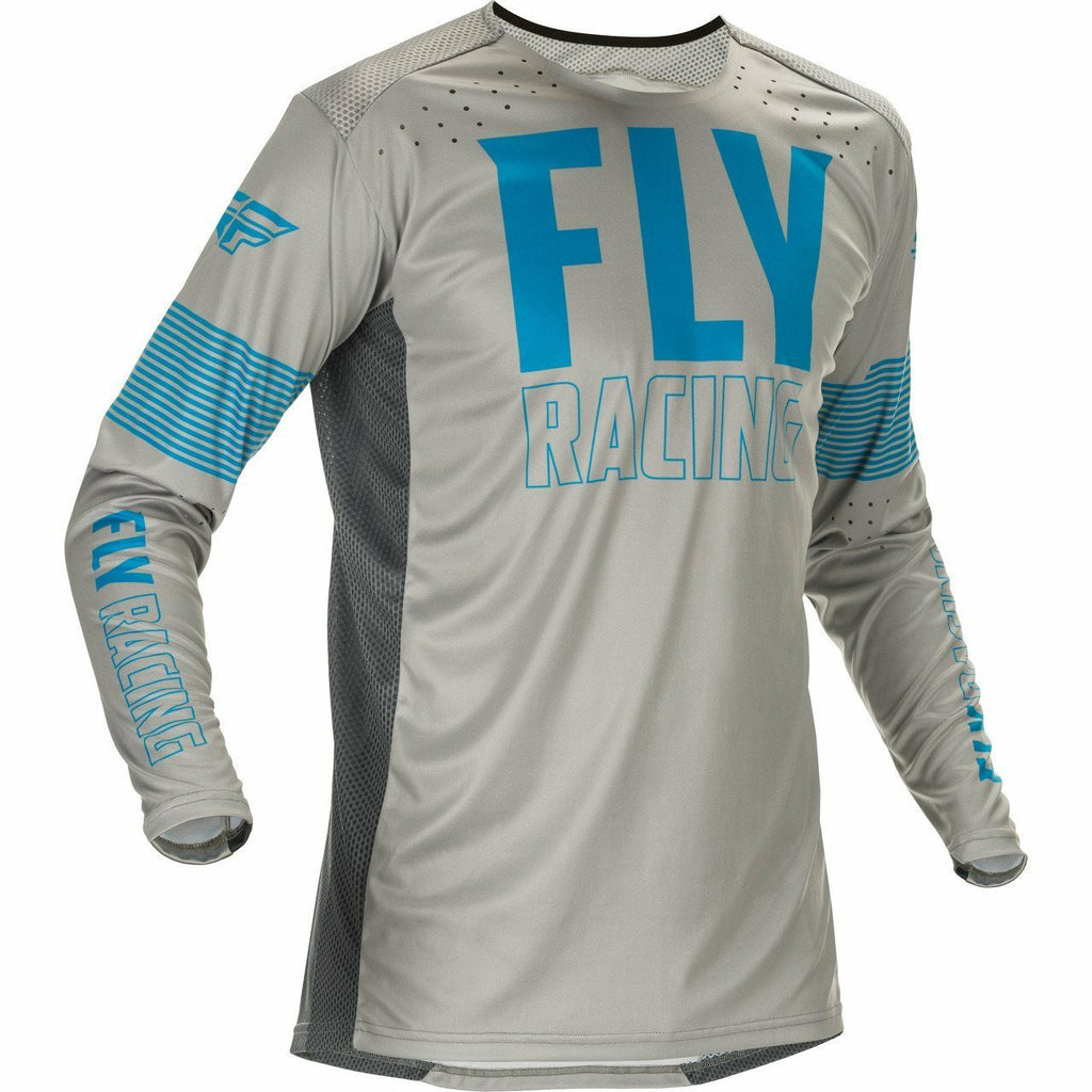 Fly Racing Lite Jersey 21 Fly Racing 2021 BLUE/GREY 2X