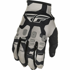 Fly Racing Youth Kinetic K221 Gloves 21 Fly Racing 2021 BLACK/GREY 4