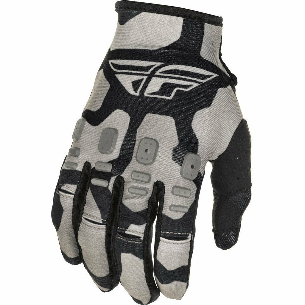 Fly Racing Kinetic K221 Gloves 21 Fly Racing 2021 BLACK/GREY 7