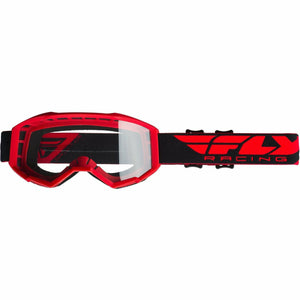 Fly Racing 2019 Focus Goggle Goggles Fly Racing RED W/CLEAR LENS Youth