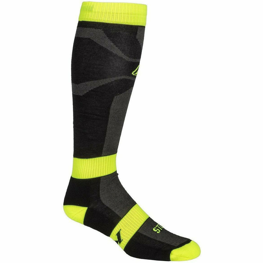 Klim Vented Sock Footwear Klim Lime SM