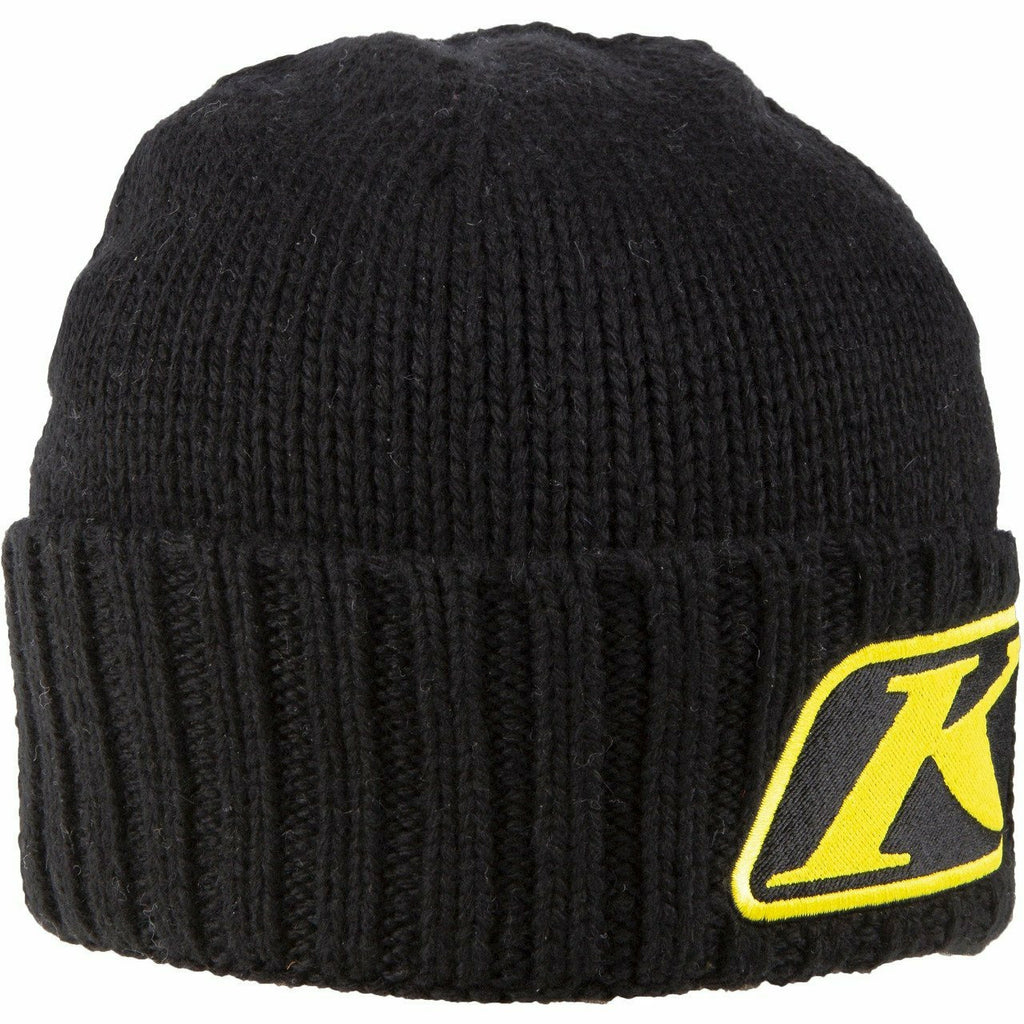 Klim Canyon Beanie - New Beanie Klim 20 Snow Canyon Beanie Black - Yellow