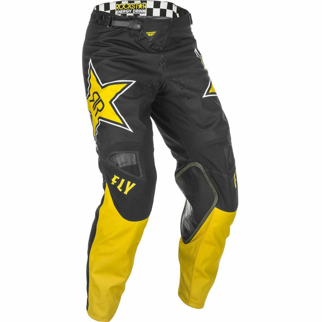 Fly Racing Kinetic Rockstar Pants 21 Fly Racing 2021 YELLOW/BLACK 28