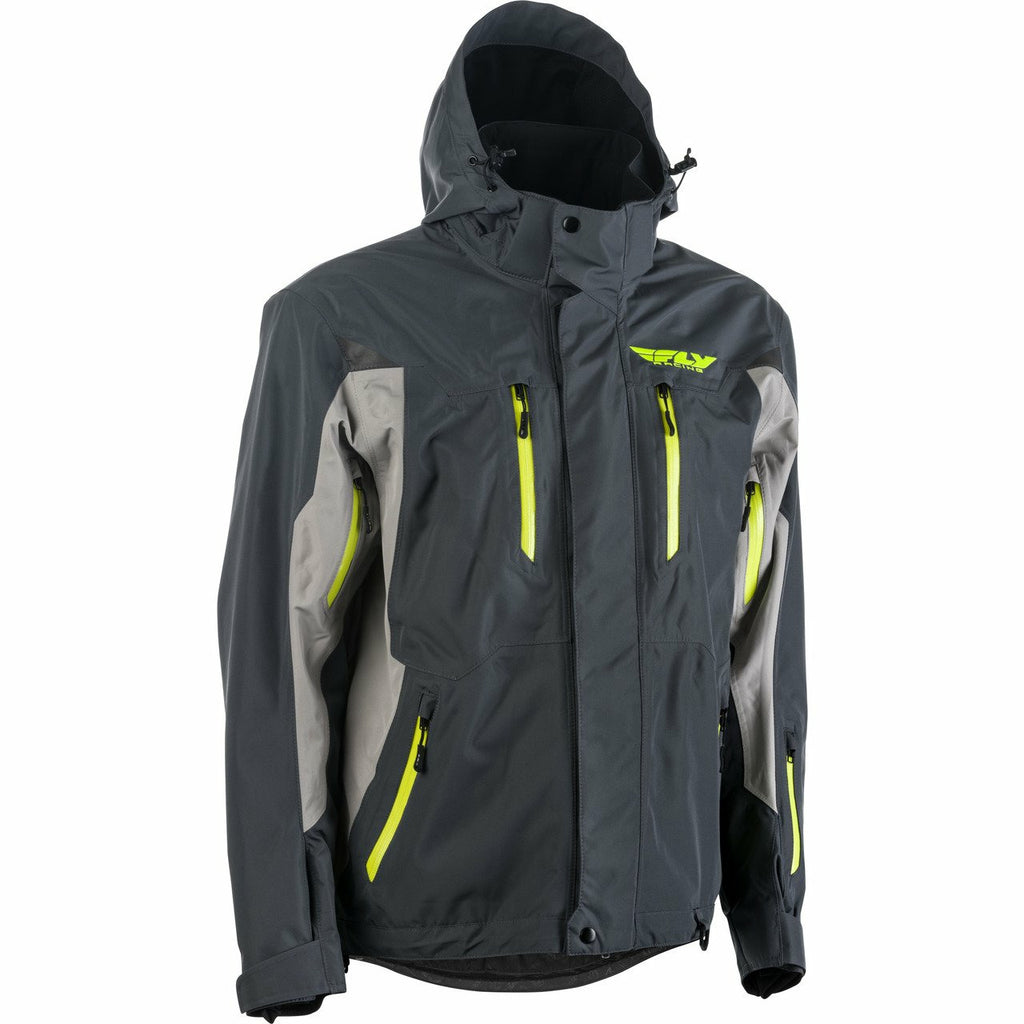 Fly Racing Incline Jacket 2020 Jacket Fly Racing GREY/CHARCOAL 2X