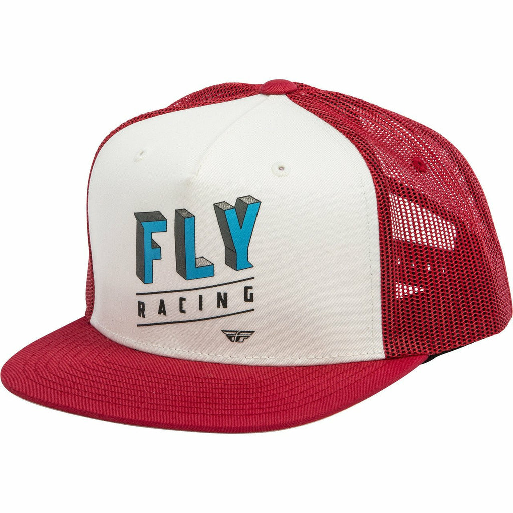 Fly Racing Youth Dimensions Hat 2020 Fly 2020 RED YOUTH
