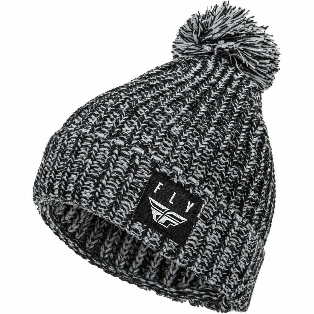 Fly Racing Pom Beanie 21 Fly Racing 2021 BLACK/WHITE OS