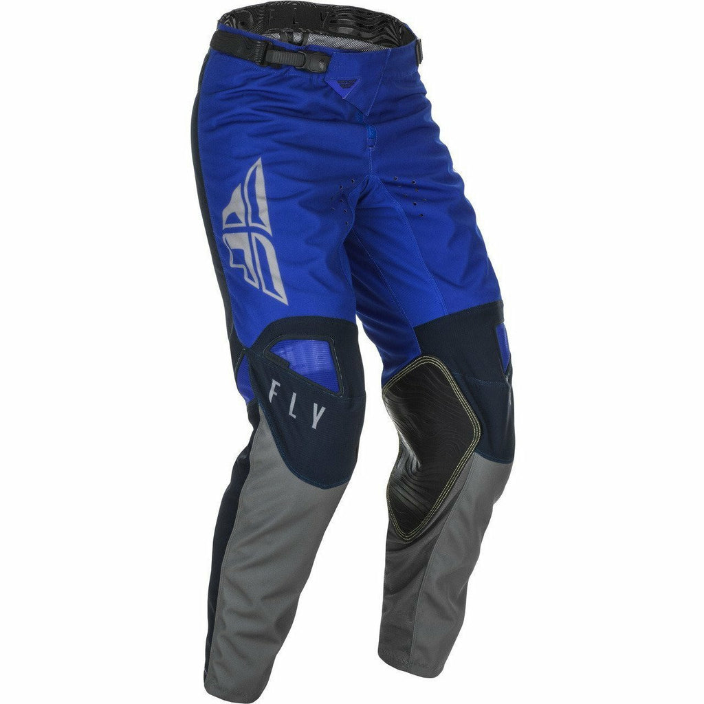 Fly Racing Youth Kinetic K121 Pants 21 Fly Racing 2021 BLUE/NAVY/GREY 18