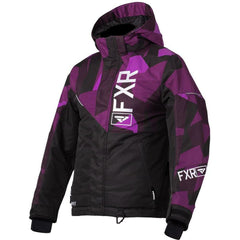 FXR Fresh Youth Jacket 2020 Jacket FXR 2020 Black/Plum Camo/White 10