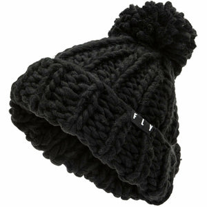 Fly Racing W Chunky Pom Beanie 21 Fly Racing 2021 BLACK OS