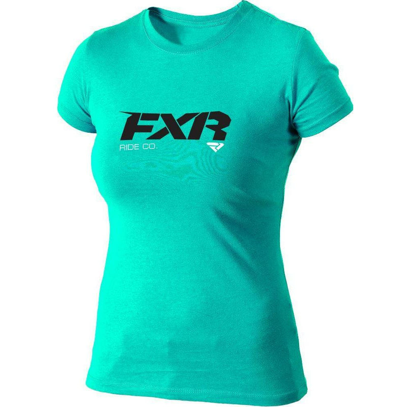 FXR Ride Co. Women's T-shirt | Sale T-Shirt FXR Mint/Black x-small