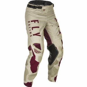 Fly Racing Youth Kinetic K221 Pants 21 Fly Racing 2021 STONE/BERRY 18
