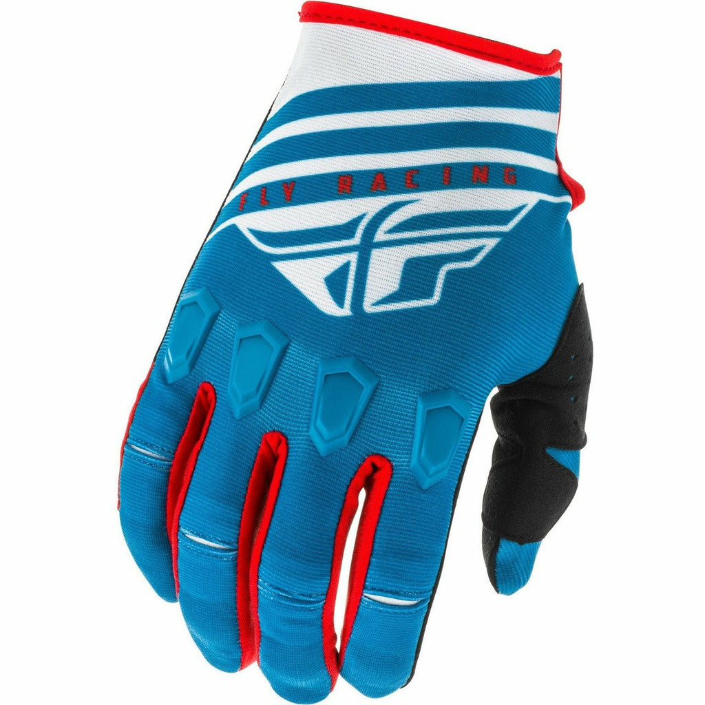 Fly Racing Kinetic K220 Gloves Fly Racing Off-Road Blue/White/Red 7