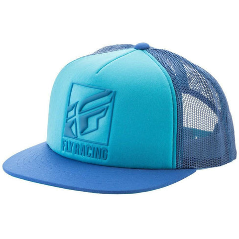 Fly Racing Lumper Hat Hat Fly Racing TEAL/BLUE