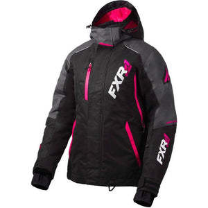 FXR Vertcal Pro Women's Jacket 2020 Jacket FXR 2020 Black/Charcoal/Fuchsia 2