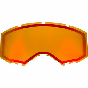 Fly Racing 2019 Zone/Focus Snow Goggle Replacement Non-Vented Lens Accessories Fly Racing RED MIRROR/PERSIMMON
