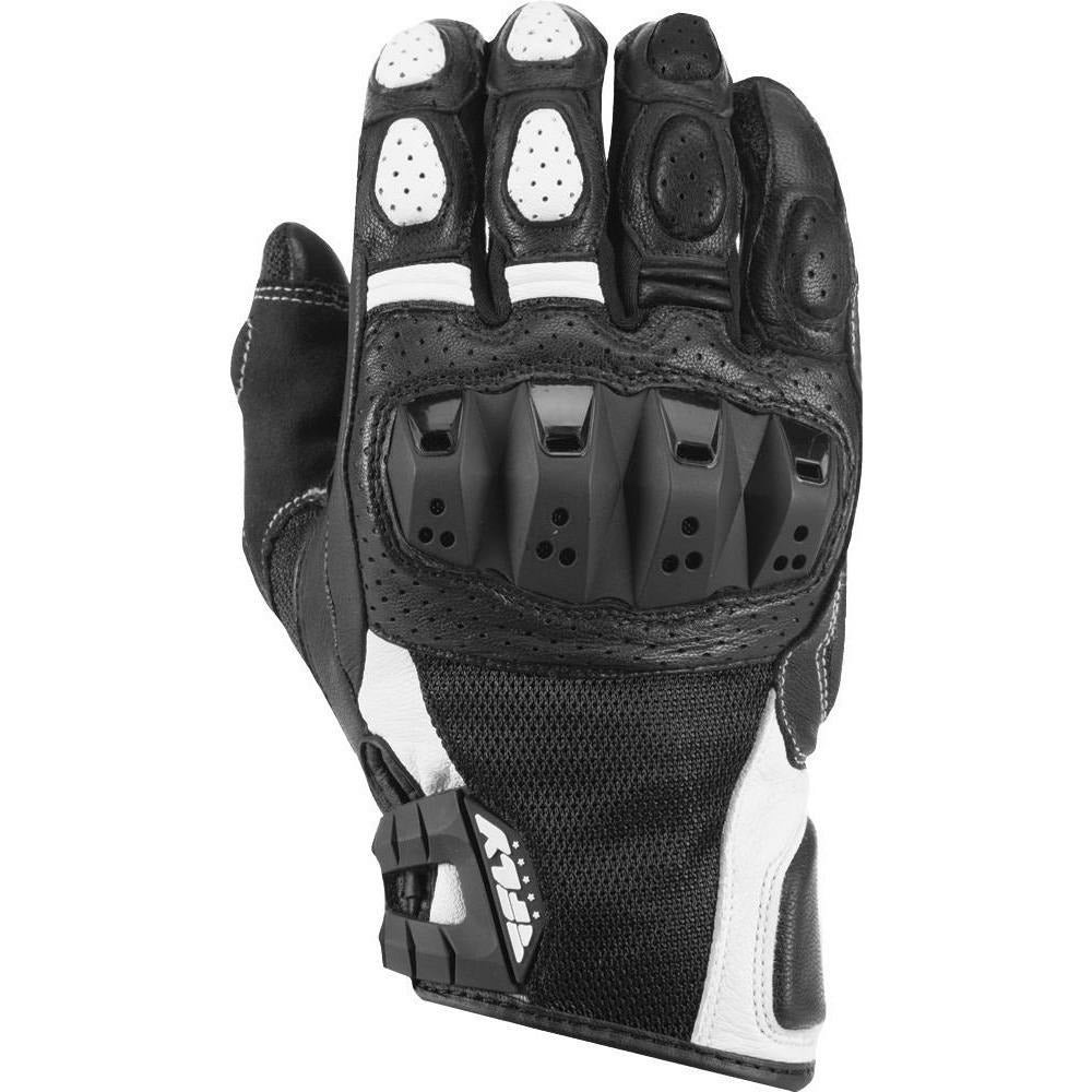 Fly Racing Brawler Gloves Gloves Fly Racing BLACK/WHITE 3X
