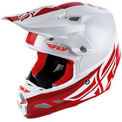 Fly Racing F2 Carbon MIPS Shield Helmet Helmet Fly Racing WHITE/RED XS