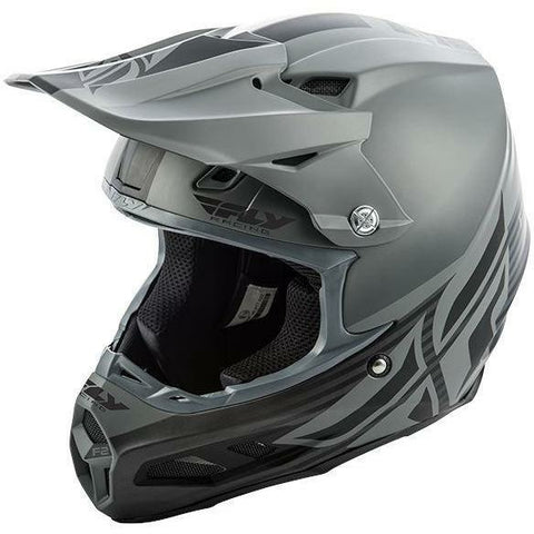 Fly Racing F2 Carbon MIPS Shield Helmet Helmet Fly Racing MATTE BLACK/GREY XS