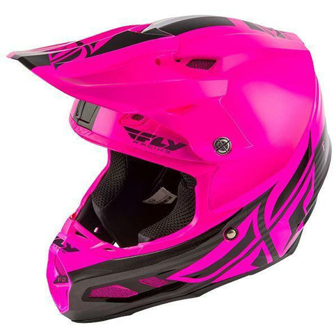 Fly Racing F2 Carbon MIPS Shield Helmet Helmet Fly Racing BLACK/PINK 2X