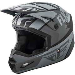 Fly Racing Elite Guild Helmet Helmet Fly Racing Matte Grey/Charcoal/Black X-Small