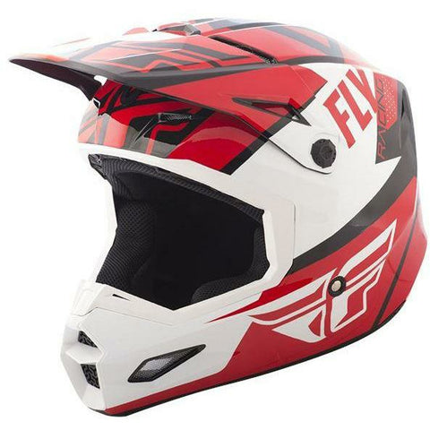 Fly Racing Elite Guild Helmet Helmet Fly Racing Red/White/Black X-Small